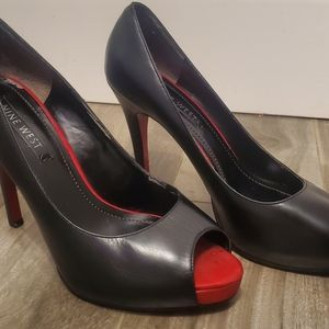 NINE WEST RED BOTTOMS!